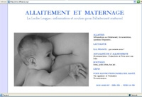 le site de la leche league france